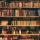 Photography of a bookcase