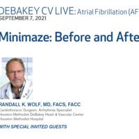 DeBakey CV Live: Atrial Fibrillation (AFib)