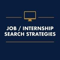 Job/Internship Search Strategies