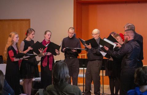 Small Chorus rehearsal