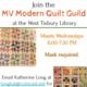 MV Modern Quilt Guild Meeting