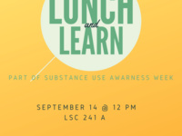 Lunch and Learn- Substance Awareness