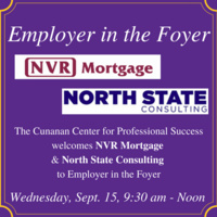 Employer in the Foyer - North State Consulting & NVR Mortgage Finance