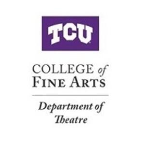 TCU College of Fine Arts, Department of Theatre Logo