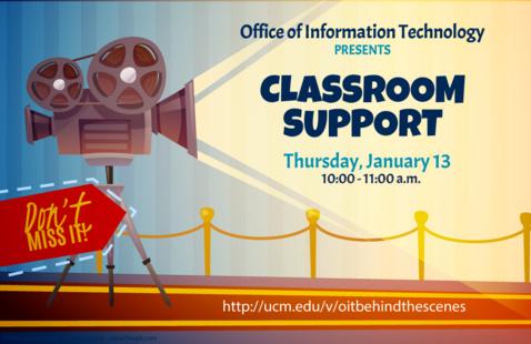 OIT: Classroom Support Webinar