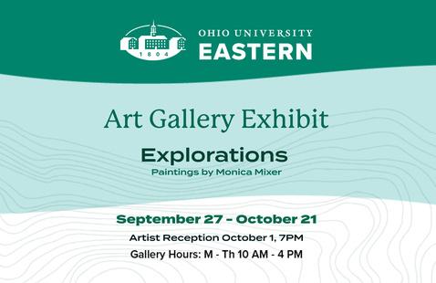 Explorations Art Gallery Exhibit