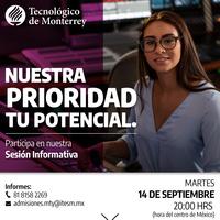 Sesión Informativa en línea - Baja California