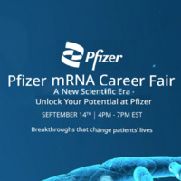 Pfizer mRNA Career Fair
