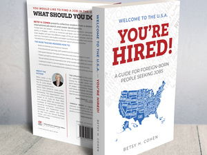 'Welcome to the U.S.A - You're Hired!' book talk