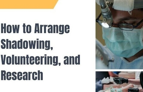 How to Arrange Shadowing, Volunteering, and Research