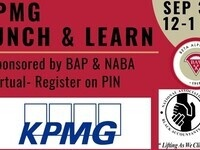 KPMG Lunch & Learn- Virtual