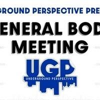 Underground Perspective general body meeting