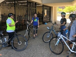 Confident City Cycling class (Bike to Campus Week 2021)