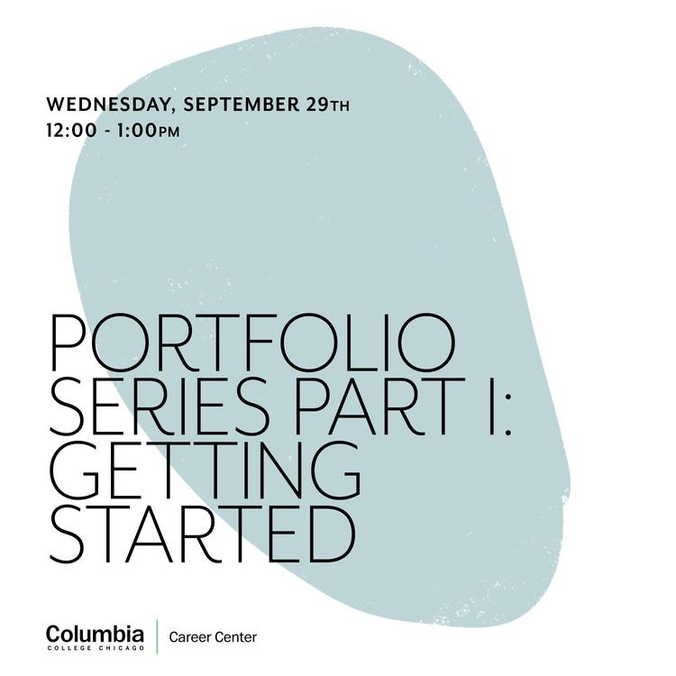 Portfolio Series Part I: Getting Started