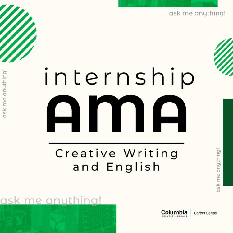 Ask Me Anything: Creative Writing and English Internships