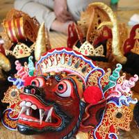 Gamelan Cudamani Masks