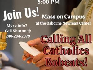 Catholic Mass and Dinner Invite