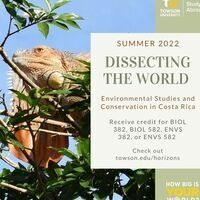 Environmental Studies and Conservation in the Tropics, Costa Rica Info Session