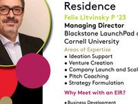 PIHE's Entrepreneur in Residence: Felix Litvinsky P '23