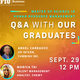 Q&A WITH OUR GRADUATES