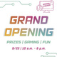 Gaming Lounge Grand Opening, Sept. 23 10am-6pm, Prizes Gaming and Fun