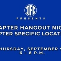 IFC Chapter Hangout Night