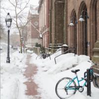 snow on Benefit Street