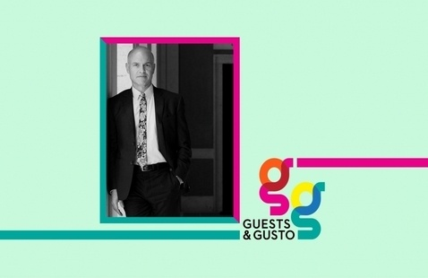 Advance research with American Academy in Rome president Mark Robbins on 'Guests and Gusto'