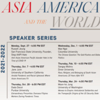 Asia, America, and the World: Anti-AAPI Hate in the Time of COVID-19