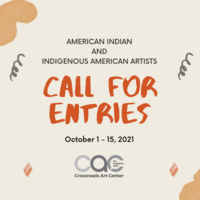 CALL FOR ENTRIES: AMERICAN INDIAN/INDIGENOUS ARTISTS