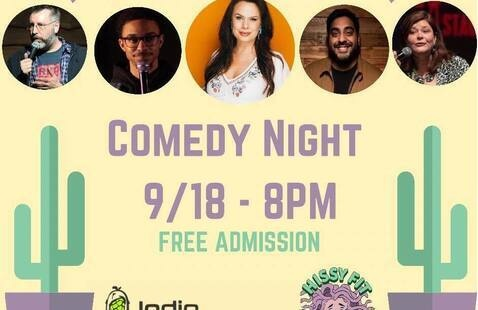 Comedy Night @ Indio Brewing