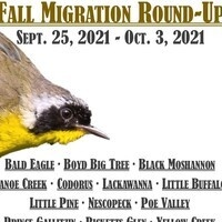 Fall Migration Round Up Kick Off Birding Program