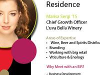 PIHE's Entrepreneur in Residence: Marisa Sergi '15 (CALS)