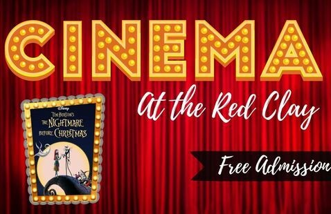 Cinema at the Red Clay featuring The Nightmare Before Christmas