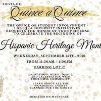 Fiesta de Quince a Quince - Hispanic Heritage Month Event