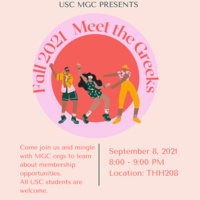 USC: Multicultural Greek Council (MGC) Meet the Greeks!