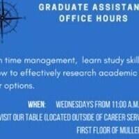 Graduate Assistant Office Hours