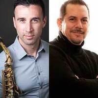 Josiah Boornazian, saxophone & Mark Ramirez, percussion