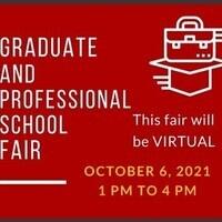 Fall 2021 Virtual Graduate and Professional School Fair