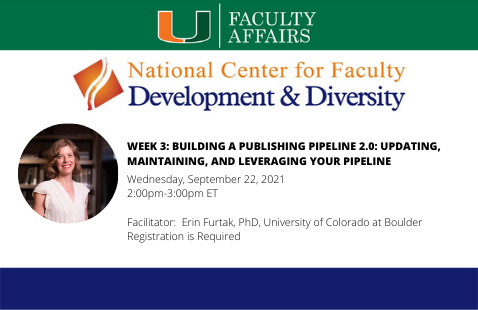 NCFDD | Week 3: Building a Publishing Pipeline 2.0: Updating, Maintaining, and Leveraging your Pipeline