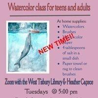 Virtual Watercolor Class