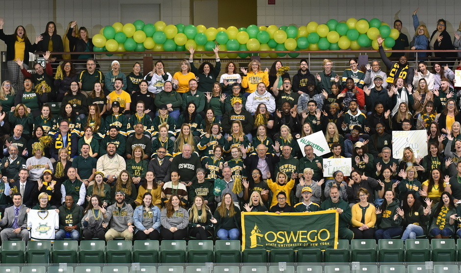 Green and Gold Day Campus Photo