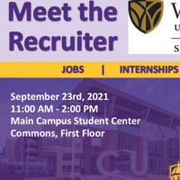Meet the Recruiter: Wake Forest School of Business MSM Program September 23rd, 2021 from 11am- 3pm at the Main Student Center First Floor