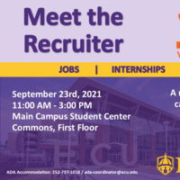 Meet the Recruiter: Whiting- Turner Construction September 23rd, 2021 from 11am- 3pm at the Main Student Center First Floor