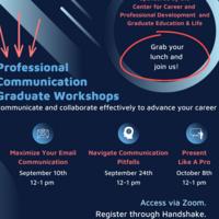 Maximize Your Email Communication Graduate Workshop