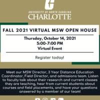 Fall 2021 Virtual MSW Open House