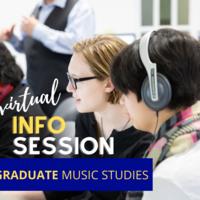 Info Session: Music Graduate Programs