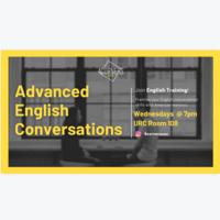 Advanced English Conversations for International Student