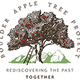 logo of apple tree with ladder leaning against it