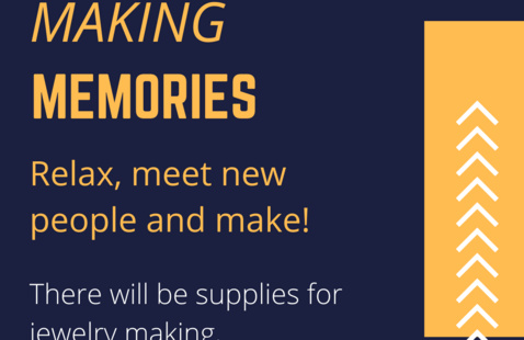 Making Memories Event Poster